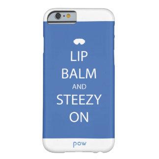 Lippenbalsam und Steezy auf Telefon-Kasten Barely There iPhone 6 Hülle