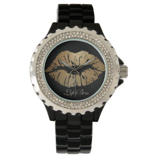 Lippenchef-Uhr Uhr