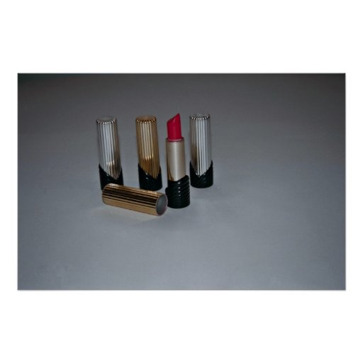 Lippenstift für Make-up Posterdruck