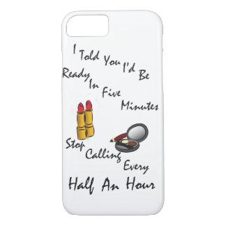 Lippenstift-Make-upthemenorientierter iPhone 8/7 Hülle