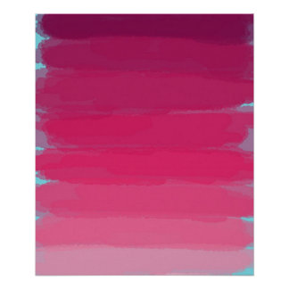 Lippenstift: Schatten des rosa abstrakten Poster