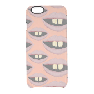 Lippentelefon Tho Durchsichtige iPhone 6/6S Hülle