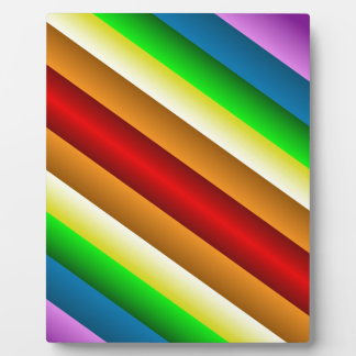 Liquidartz zweischneidiger Regenbogen Fotoplatte
