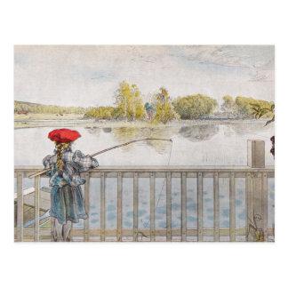 """""""Lisbeth-Fischen-"""" Carl Larsson-Kunst-Druck Postkarten"""