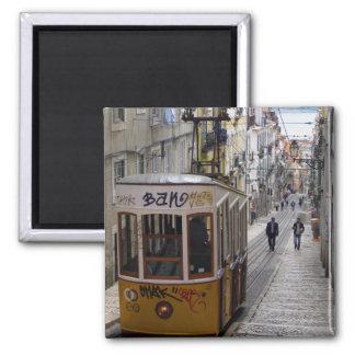 Lissabon-Magnet Quadratischer Magnet