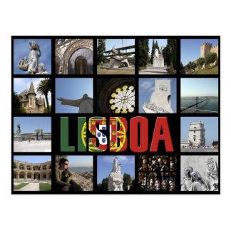 Lissabon-Postkarte Postkarte