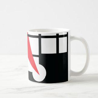 Lissitzky u. Mondrain Kaffeetasse