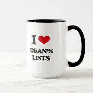 Lists Liebe I Dekans Tasse