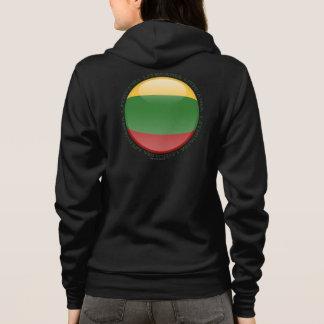 Litauen-Blasen-Flagge Hoodie