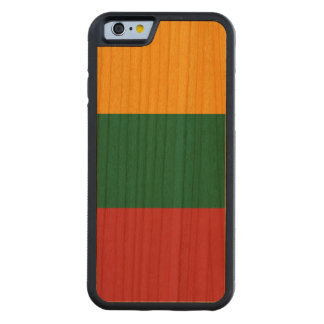 Litauen-Flagge Bumper iPhone 6 Hülle Kirsche