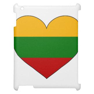 Litauen-Flagge einfach iPad Hülle