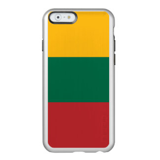 Litauen-Flagge Incipio Feather® Shine iPhone 6 Hülle