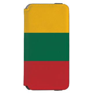 Litauen-Flagge Incipio Watson™ iPhone 6 Geldbörsen Hülle