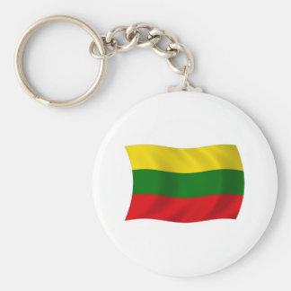Litauen-Flagge Keychain Schlüsselanhänger