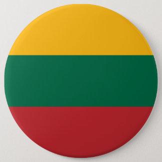 Litauen-Flagge Runder Button 15,3 Cm