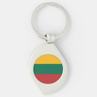 Litauen-Flagge Schlüsselanhänger