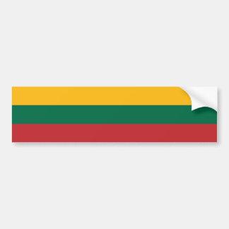 Litauen/litauische (zivile) Flagge Autoaufkleber
