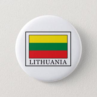 Litauen Runder Button 5,7 Cm