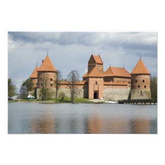Litauen, Trakai. Insel-Schloss 2 Kunstphoto