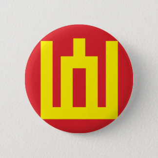 Litauische Armee-Flagge - Flagge der litauischen Runder Button 5,7 Cm