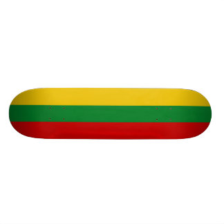 Litauische Flaggen-Skateboards Individuelles Deck