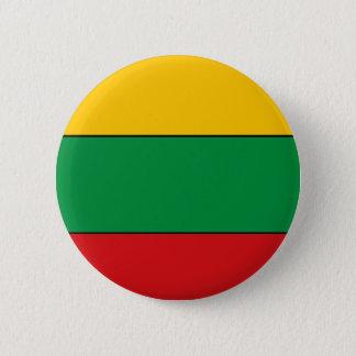 Litauische Flaggen-T - Shirts und Geschenke Runder Button 5,7 Cm