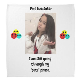 Liter-Größen-Joker-Entwurf: Meine niedliche Phase Halstuch