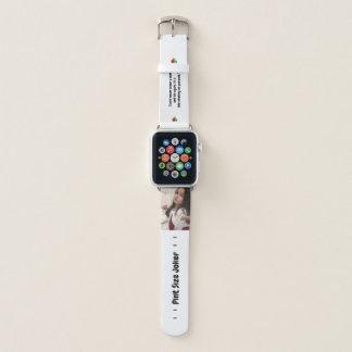 Liter-Größen-Joker: Erdrosseln auf Anzug und Apple Watch Armband