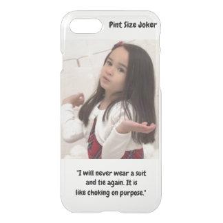 Liter-Größen-Joker: Erdrosseln auf Anzug und iPhone 8/7 Hülle