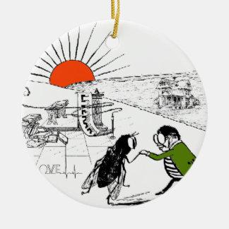 literary love keramik ornament