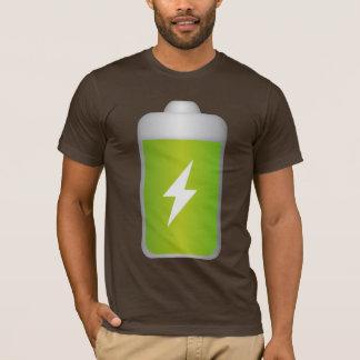 Lithium-Ionen-Batterie Ikone T-Shirt