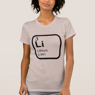 Lithium - Periodensystem T-Shirt