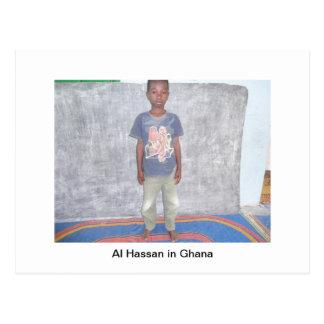 Little Boy in Ghana Postkarte