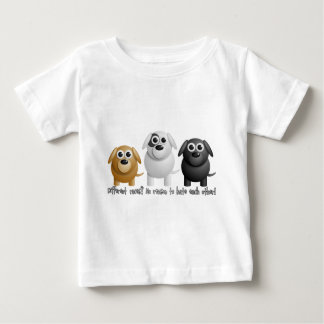 little dogs baby t-shirt