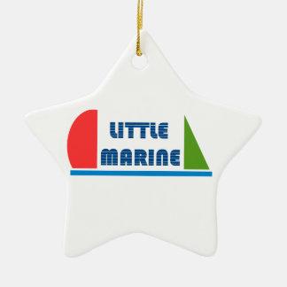 little mariniert keramik Stern-Ornament