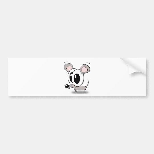 little mouse autoaufkleber