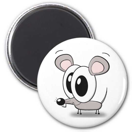 little mouse runder magnet 5,1 cm