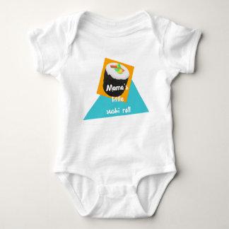 Little Mutter Sushi-Rolle - Baby-Ausstattung Baby Strampler