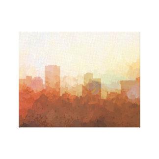 LITTLE ROCK, ARKANSAS Skyline-in der Leinwanddruck