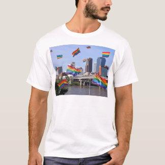 Little Rock, das Stolz fliegt T-Shirt