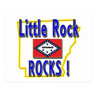Little Rock-Felsen! (Blau) Postkarte