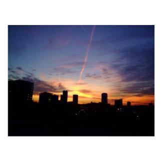 Little Rock-Sonnenuntergang Postkarte
