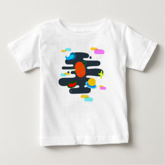 Little things of the universe baby t-shirt