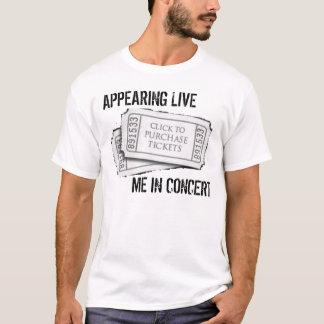 Live aussehen ich im Konzert T-Shirt
