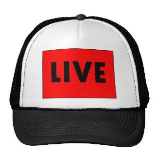 Live-Fernsehen Baseballkappen