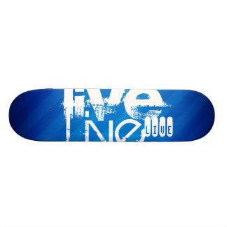 Live; Königsblau-Streifen Individuelles Skateboard