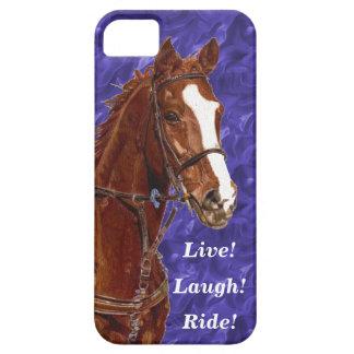 Live! Lachen! Fahrpferd iPhone 5 Etui
