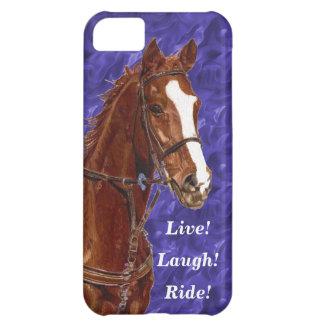 Live! Lachen! Fahrpferd Hüllen Für iPhone 5C