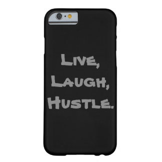 Live, Lachen, Gedränge Iphone Fall Barely There iPhone 6 Hülle