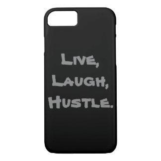 Live, Lachen, Gedränge Iphone Fall iPhone 8/7 Hülle